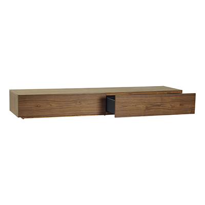 Amsterdam TV Console - Black Ash, White