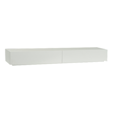 (As-Is) Amsterdam TV Console - White - 2