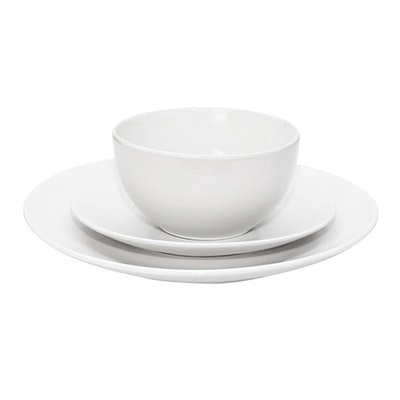 EVERYDAY 18-Pc Dinnerware Set - White - Image 2