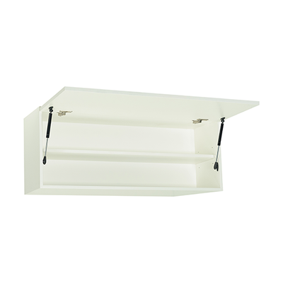 Vito 1M Hanging Cabinet - Black Ash - Image 2
