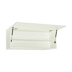Vito 1M Hanging Cabinet - Walnut, White