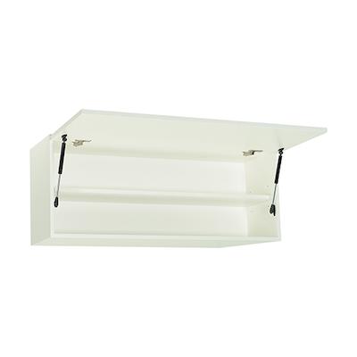 Vito 1M Hanging Cabinet - Walnut, White - Image 2