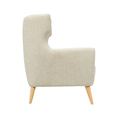 Kanion Single Seater Sofa - Almond - Image 2