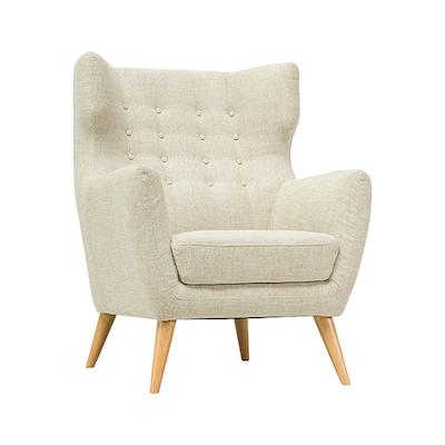 Kanion Single Seater Sofa - Almond - Image 1