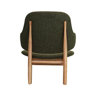 Veronic Lounge Chair - Russet, Oak - Image 2