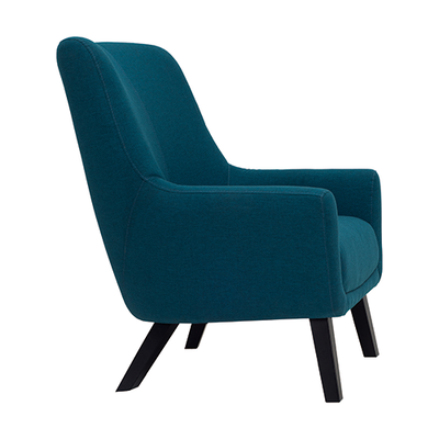 Alicia Lounge Chair - Tumeric - Image 2
