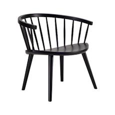 Moke Lounge Chair - Black