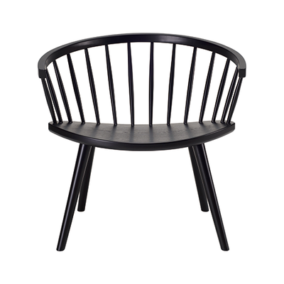 Molly Lounge Chair - Black