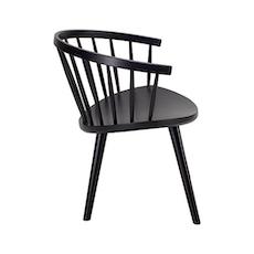 Moke Lounge Chair - Walnut