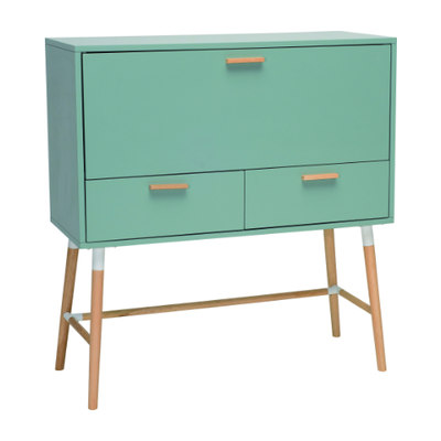(As-is) Arod Working Desk - Sage Green - A