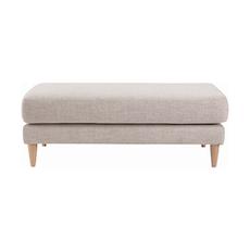Ballot Ottoman Sofa - Almond