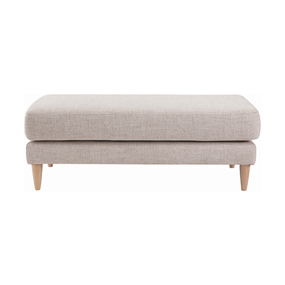 Elise Ottoman Sofa - Almond