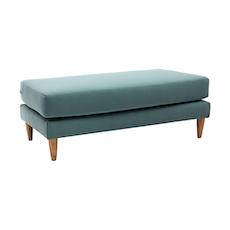 Ballot Ottoman Sofa - Jade