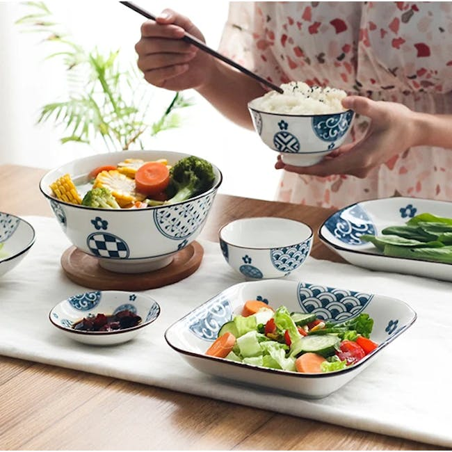 Table Matters Patchwork Coupe Plate - 1