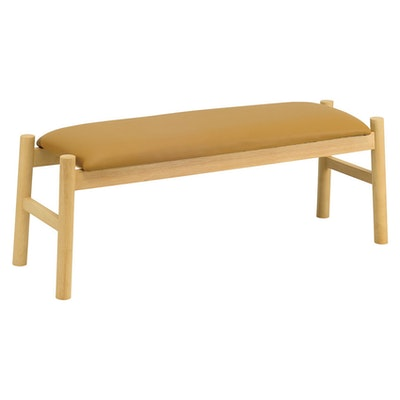 Madge Bench 1.1m - Chestnut - Image 2