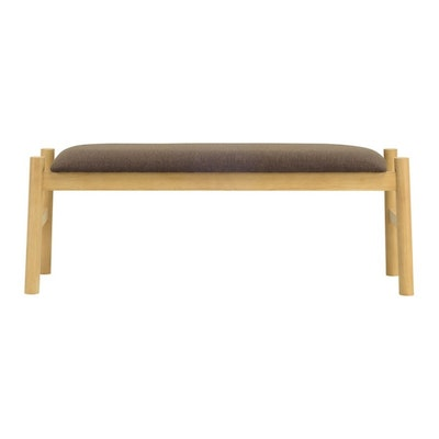 Madge Bench 1.1m - Chestnut - Image 1