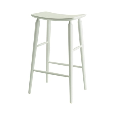 Hester Bar Stool - White Lacquered - Image 2