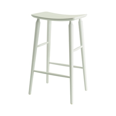 Hester Bar Stool - White Lacquered