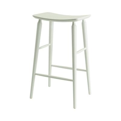 Hester Bar Stool - White Lacquered