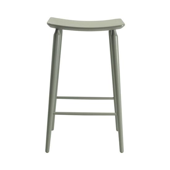 Malmo - Hester Bar Stool - Grey Lacquered