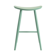 Philana Bar Stool - Light Green Lacquered