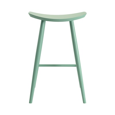 Philana Bar Stool - Dust Yellow Lacquered