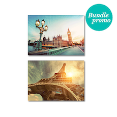 Iconic Cities Print  Poster Bundle