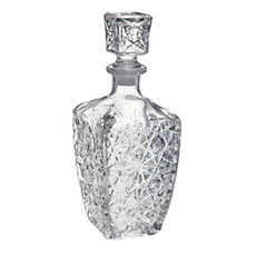 Art Deco Whisky Decanter (Buy 3 Get 1 Free!)