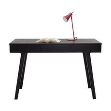 Ezra Working Desk - Black Ash