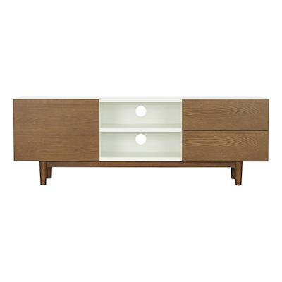 Aalto TV Cabinet - Natural, White, Cocoa