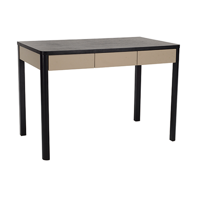 Mabon Working Desk - Black Ash, Taupe Grey - Image 1