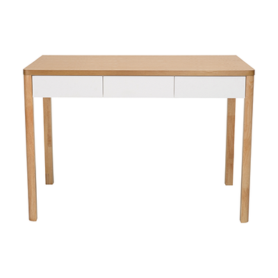 Mabon Working Desk - Natural, White - Image 1