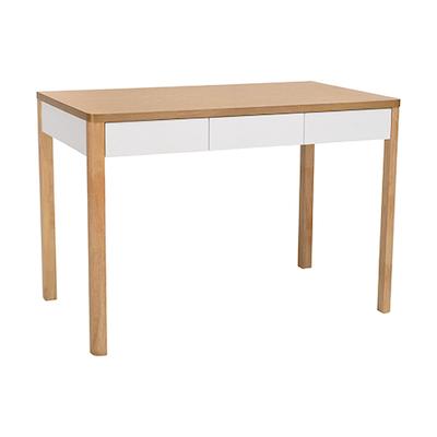 Mabon Working Desk - Natural, White