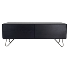 Sydney TV Cabinet - Small, Black Ash