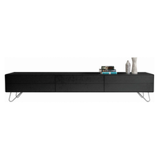 Sydney TV Cabinet - Large, Black Ash