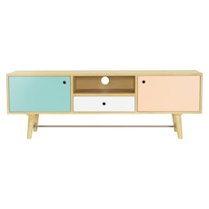 Santorini TV Cabinet - Multicoloured