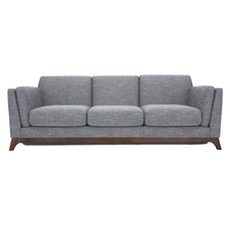 Berlin 3 Seater Sofa - Cocoa, Pebble