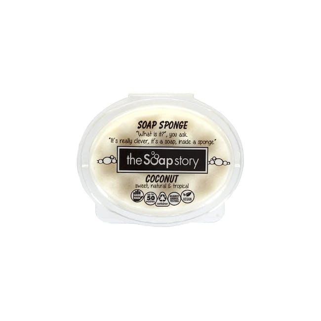 Soap Sponge 150g: Coconut - 0