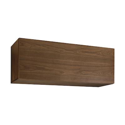 Vito 1M Hanging Cabinet - Walnut - Image 1