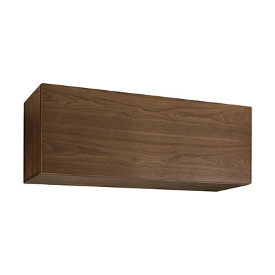 Vito 1M Hanging Cabinet - Walnut