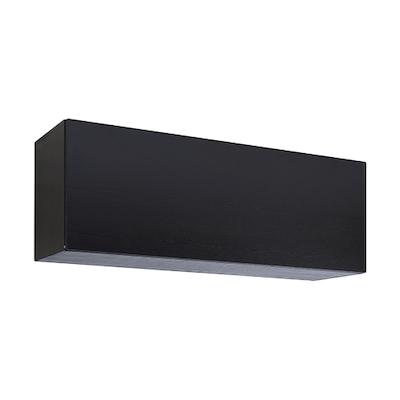 Vito 1M Hanging Cabinet - Black Ash