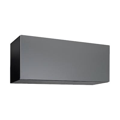 Vito 1M Hanging Cabinet - Black Ash, Grey - Image 1