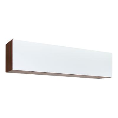 Vito 1.5M Hanging Cabinet - Walnut, White - Image 1