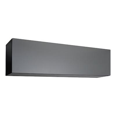 Vito 1.5M Hanging Cabinet - Black Ash, Grey - Image 1