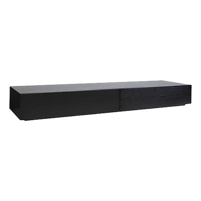 Berlin TV Console 2m - Black Ash - Image 1