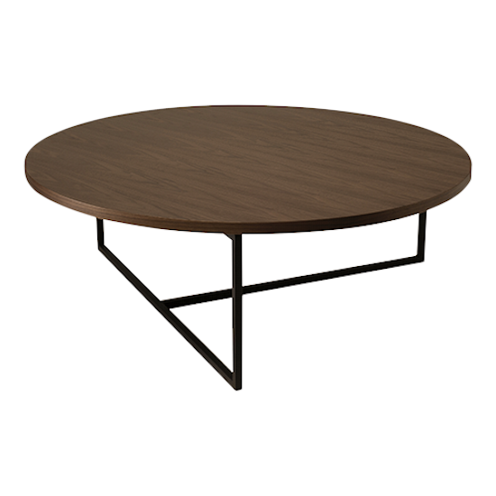 Malmo - Felicity Coffee Table - Walnut, Matt Black