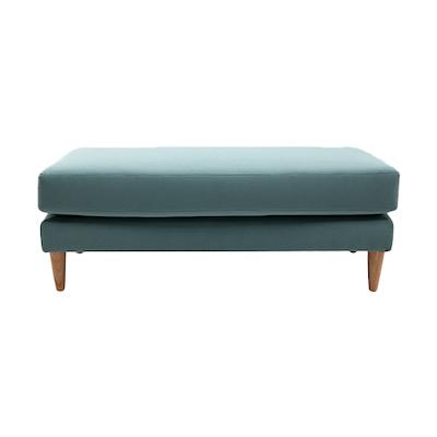 Elise Ottoman Sofa - Jade - Image 1