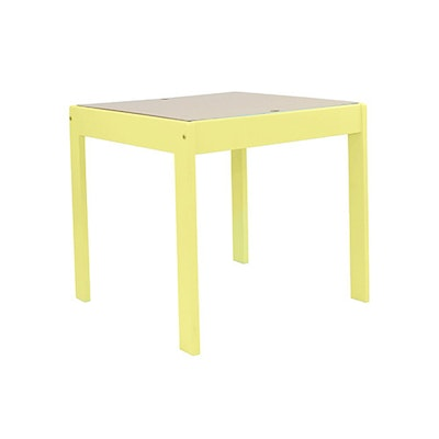 Wynona Activity Table - Sunshine Yellow