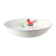 Rooster 7 Inch Coup Dish (3 pcs)