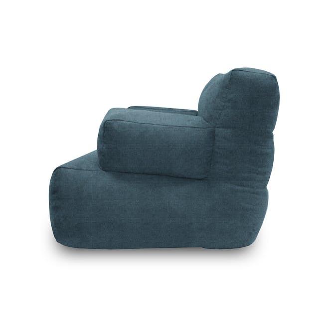 Flabber Bean Bag Sofa - Blue - 1